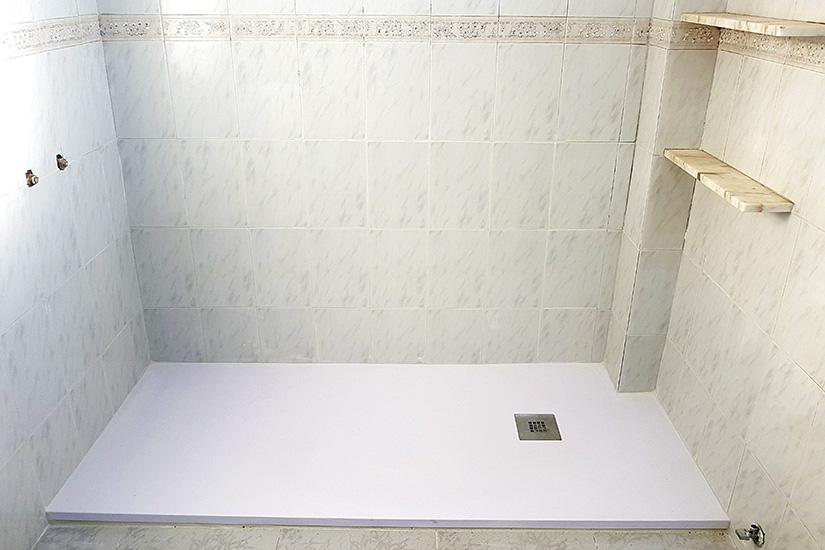 Plato ducha corian gallery of lavabo de corian canada con - Plato ducha corian ...