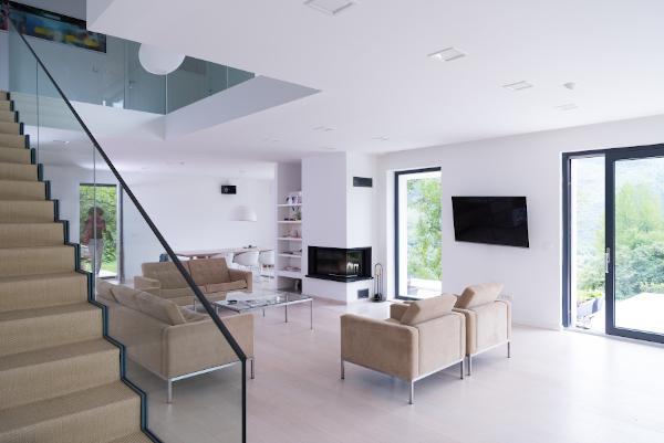 Sala de estar reforma